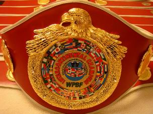 WPBF Inter-Continental Champion Belt